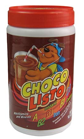 Chocolisto Can 10.5oz