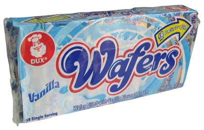 Wafer Vanilla Cookies 18p