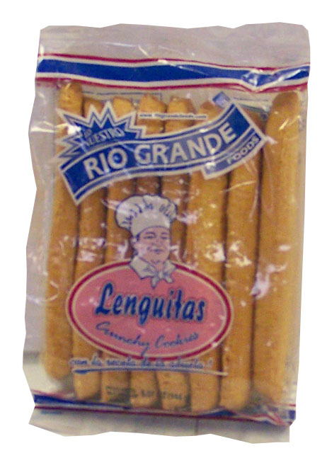 Galletas lenguitas 48x5.07 oz